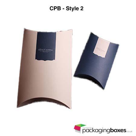 Folding Pillow Boxes