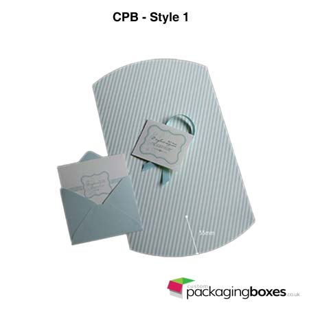 Folding Pillow Packaging Boxes