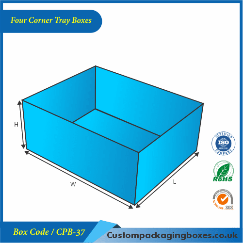 Four Corner Tray Boxes 01