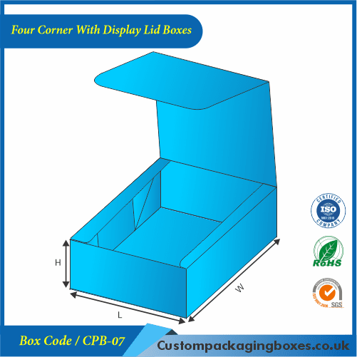 Four Corner With Display Lid Boxes 03