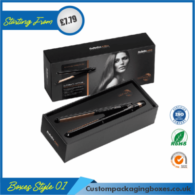 Hair Straightener Packaging Boxes 01