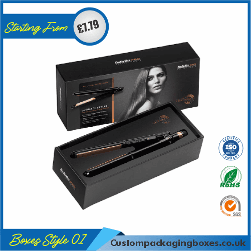 Hair Straightener Packaging Boxes 01