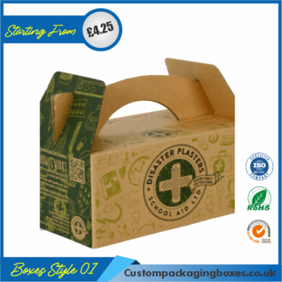 Kraft Gable Packaging Boxes 01