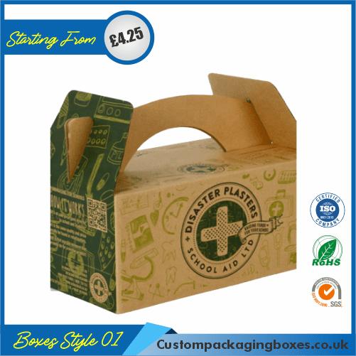 Kraft Gable Packaging Boxes 01