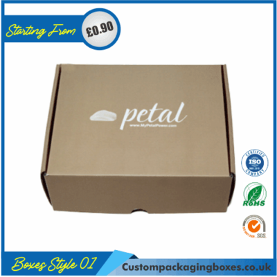 Kraft Logo Shipping Boxes 01