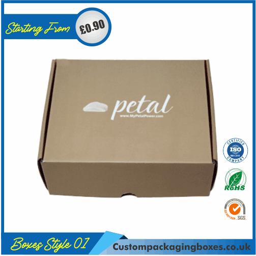 Kraft Logo Shipping Boxes 01