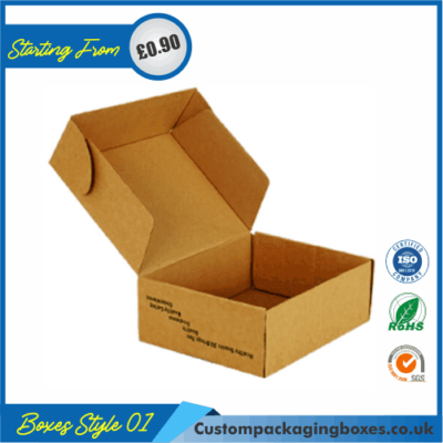 Kraft Mailing Boxes 01