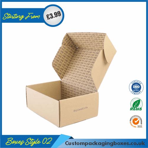 Kraft Mailing Boxes 02