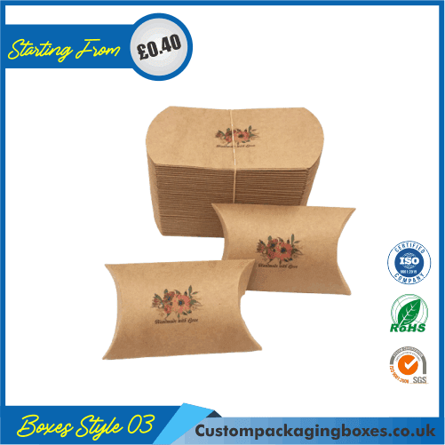 Kraft Paper Gift Pillow Boxes 02