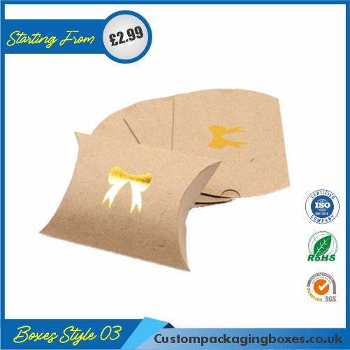 Kraft Paper Gift Pillow Boxes 03