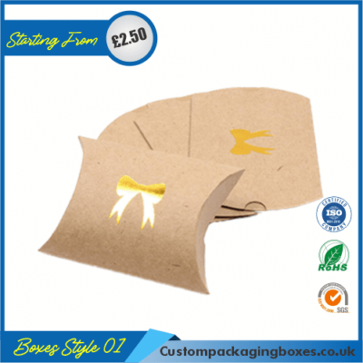 Kraft Paper Pillow Soap Boxes 01