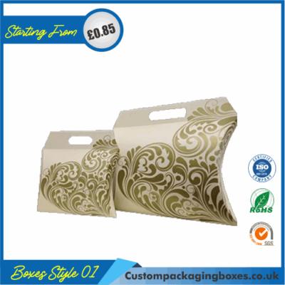 Kraft Paper Pillow Soap Boxes 01