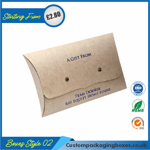 Kraft Paper Pillow Soap Boxes 02