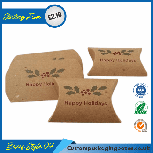 Kraft Paper Pillow Soap Boxes 04