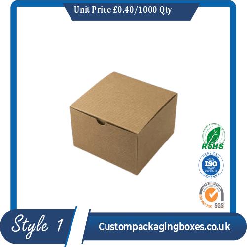 Kraft Tuck Top Boxes