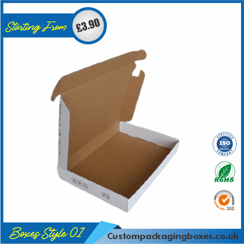 Kraft White Packaging Boxes 01