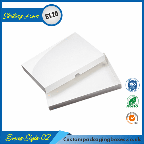 Kraft White Packaging Boxes 02