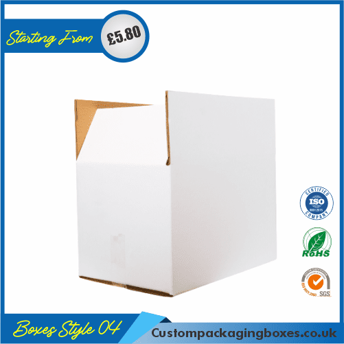 Kraft White Packaging Boxes 04