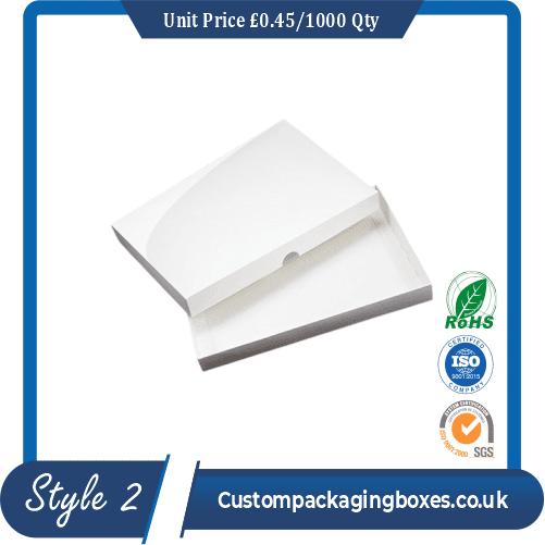 Kraft White Packaging Boxes