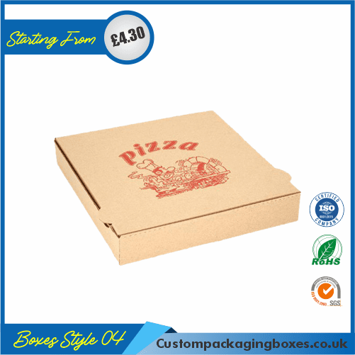 Logo Printed Pizza Boxes 04