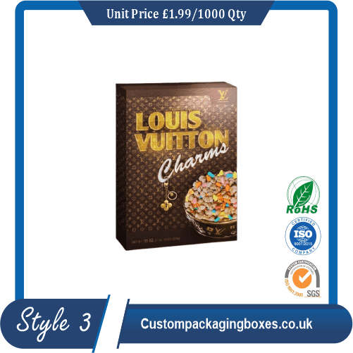 Luxury Cereal Boxes