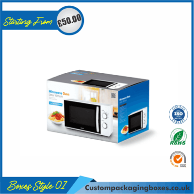 Microwave Oven Packaging Boxes 01