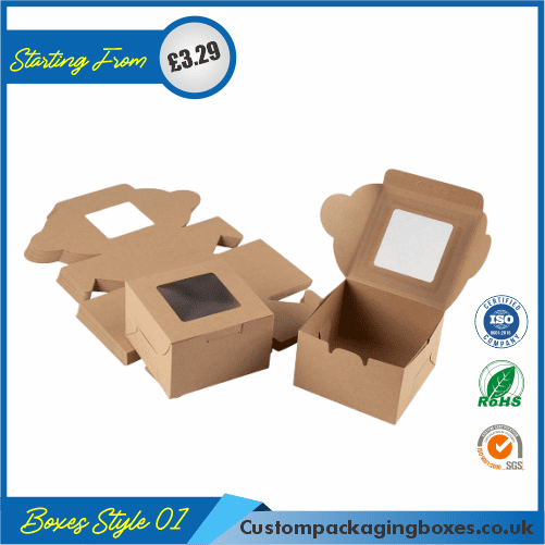 Packaging Boxes with Window 01
