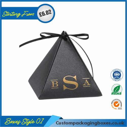 Personalized Pyramid Favor Box 01