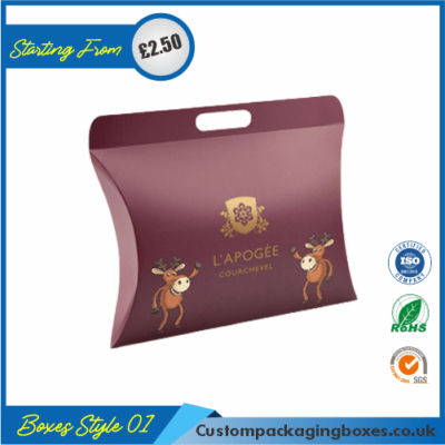 Pillow Hair Extension Luxury Boxes 01