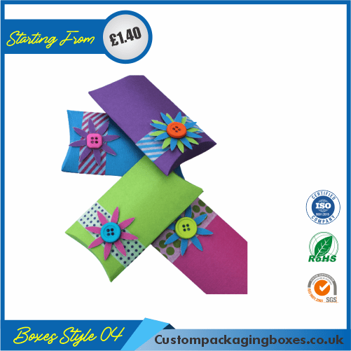 Pillow Paper Gift Boxes 04