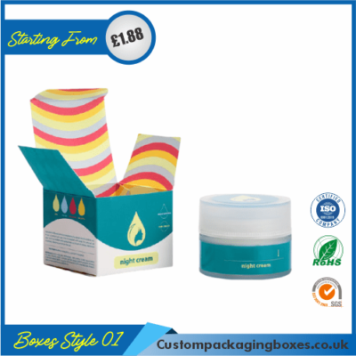 Printed Cream Packaging Boxes 01