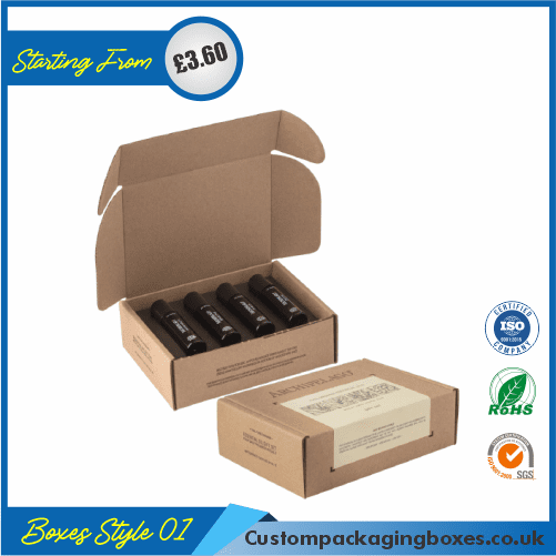 Printed Essential Oil Packaging Boxes 01
