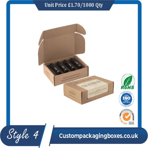 Printed Essential Oil Packaging Boxes