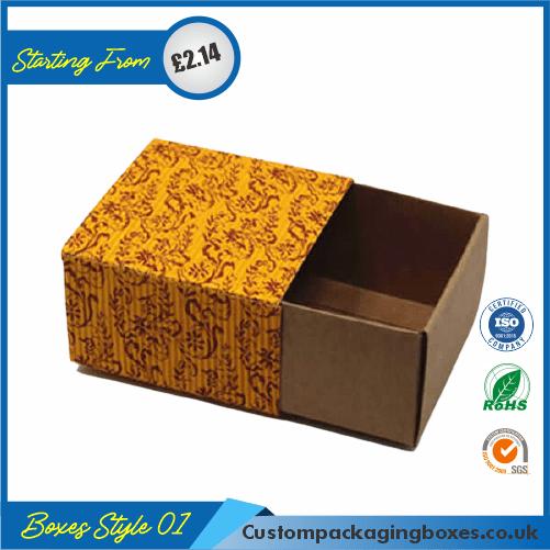 Printed Kraft Apparel Packaging Boxes 01