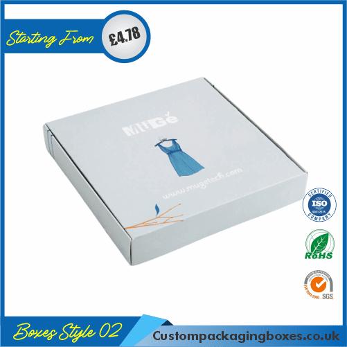 Printed Kraft Apparel Packaging Boxes 02