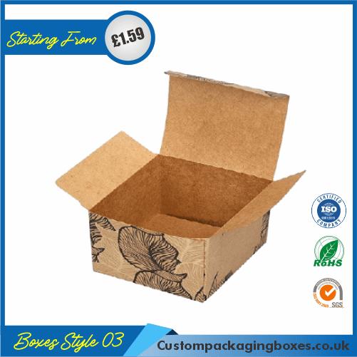 Printed Kraft Apparel Packaging Boxes 03