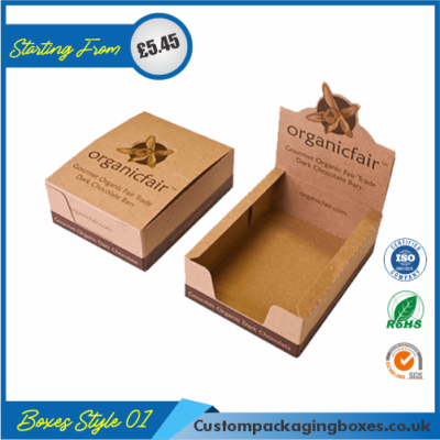 Printed Kraft Display Packaging Boxes 01