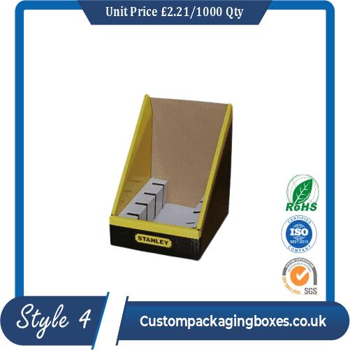 Printed Kraft Display Packaging Boxes