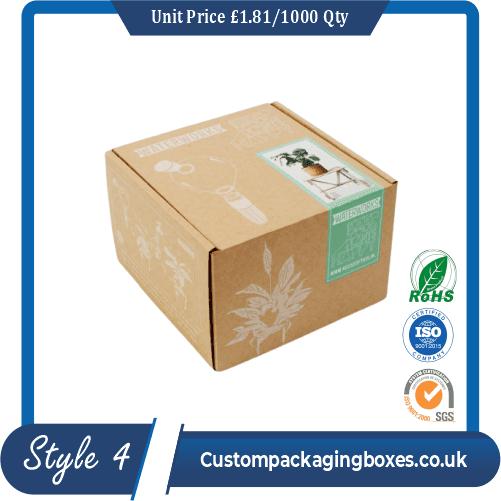 Printed Kraft Gift Boxes Packaging