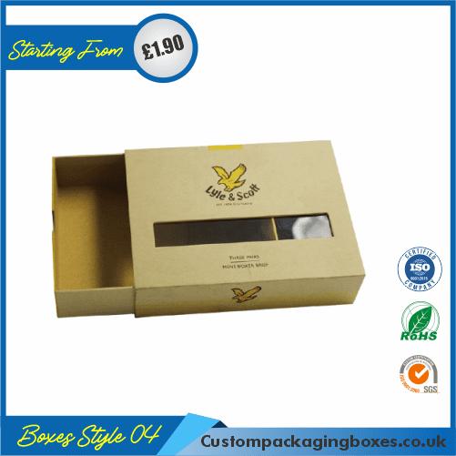 Printed Kraft Gift Boxes Packaging04