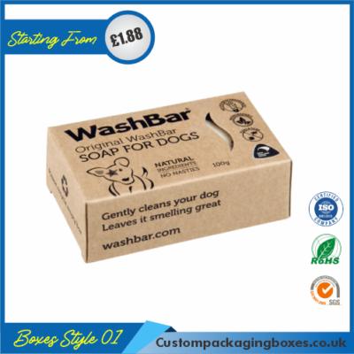 Printed Kraft Soap Packaging Boxes 01