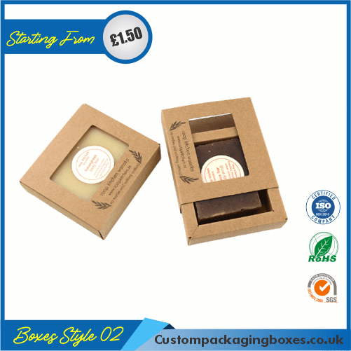 Printed Kraft Soap Packaging Boxes 02