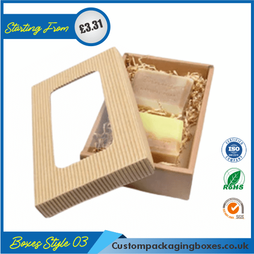 Printed Kraft Soap Packaging Boxes 03