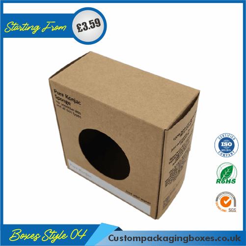 Printed Kraft Soap Packaging Boxes 04