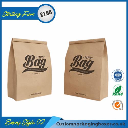 Printed Kraft Window Packaging Bags 02