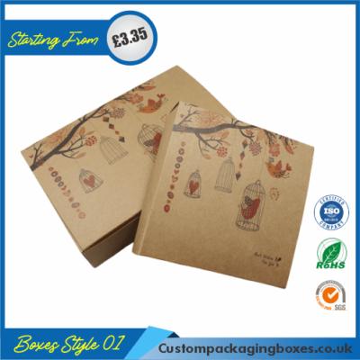 Printed Kraft Window Packaging Boxes 01
