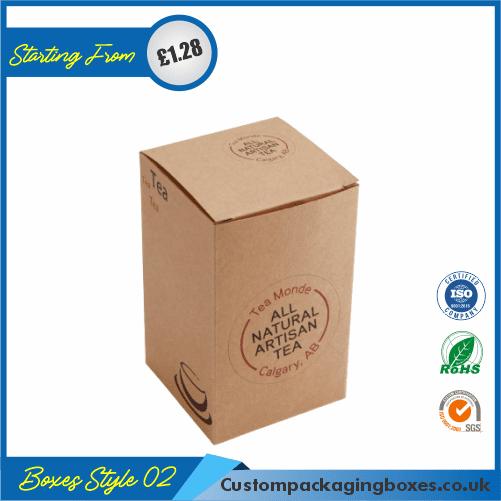 Printed Kraft Window Packaging Boxes 02