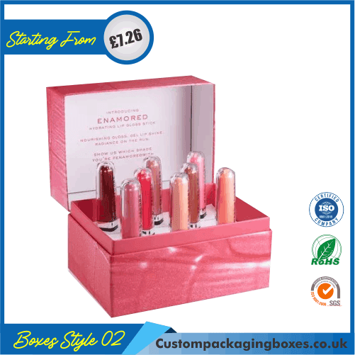 Printed Lip Gloss Packaging Boxes 02