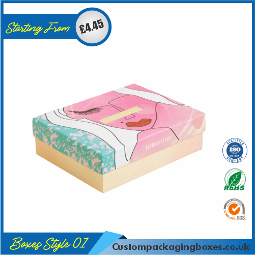 Printed Makeup Packaging Boxes 01