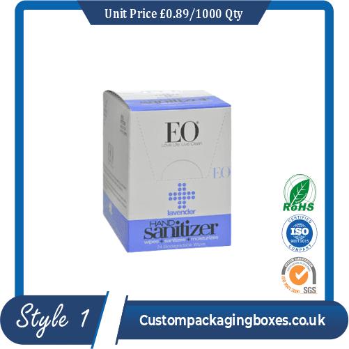 Printed Sanitizer Boxes sample #1